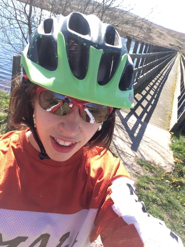 Mountain Biking at Llyn Brenig, Wales