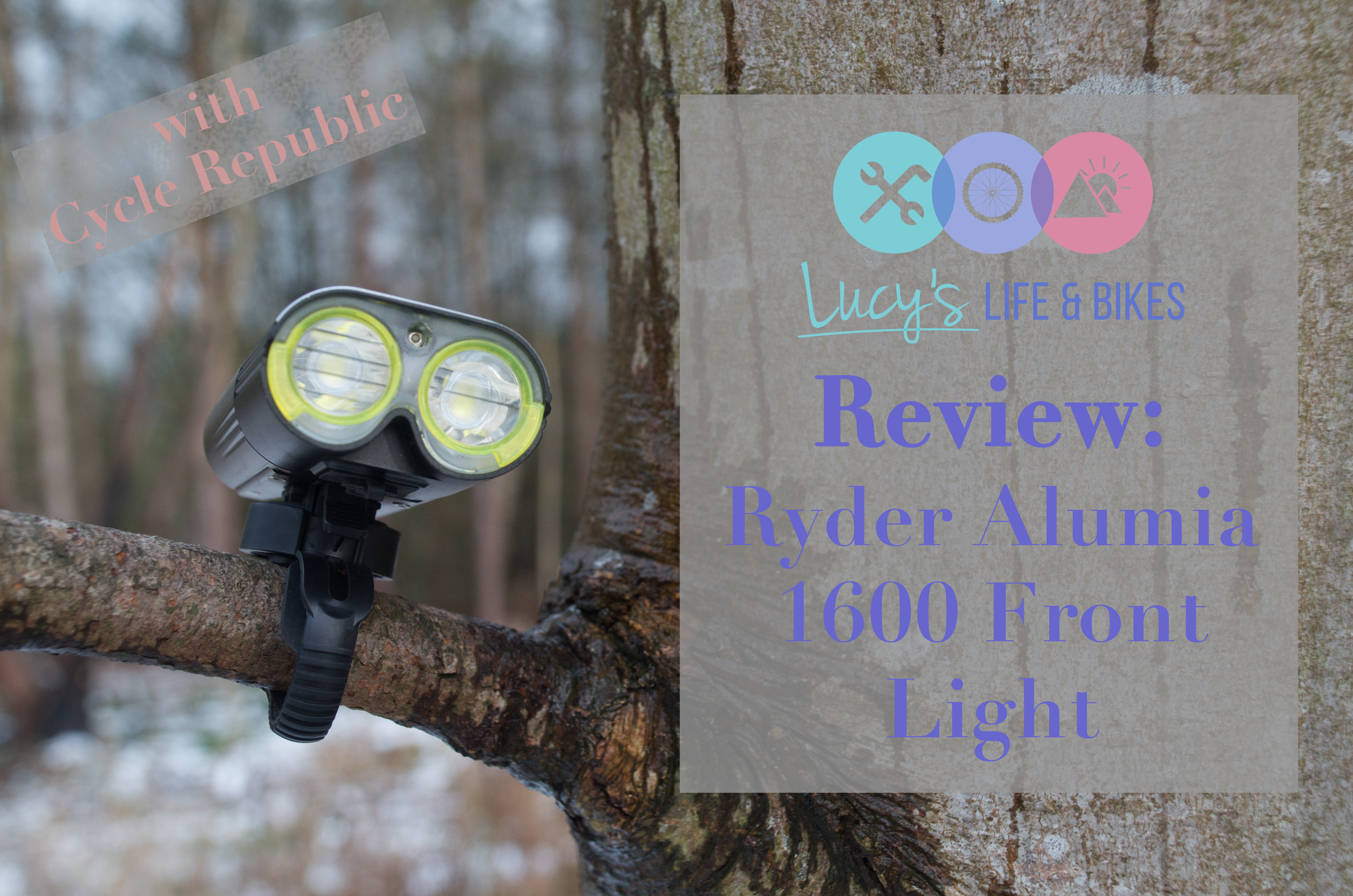 Cycling Light Review - Ryder Alumia 1600