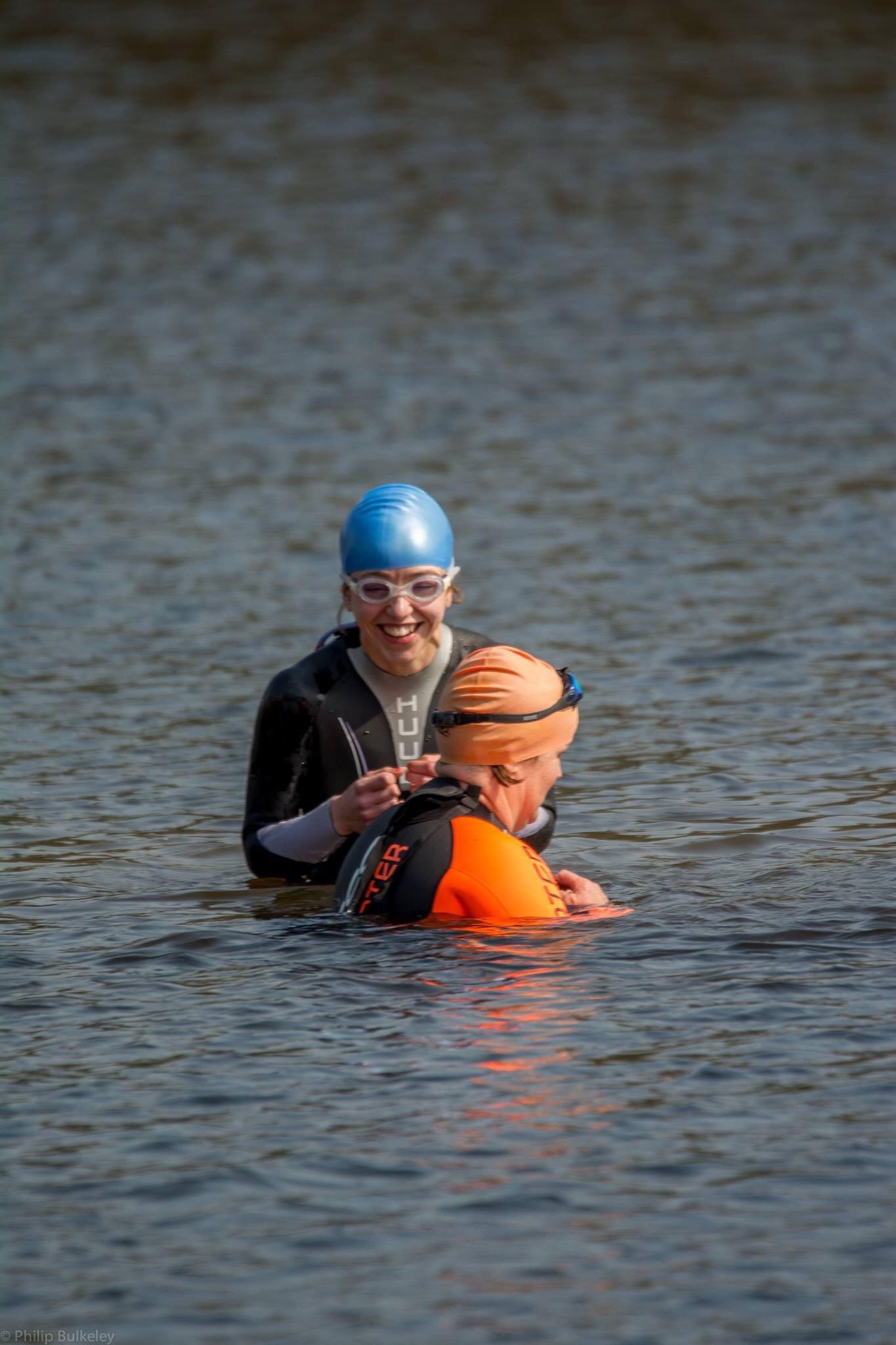 Swimming in Alderford Lake
