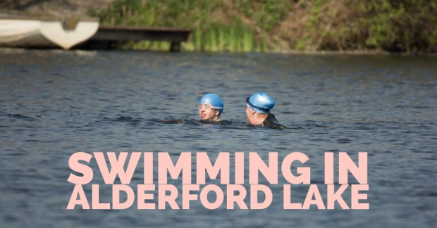 Swimming in Alderford Lake