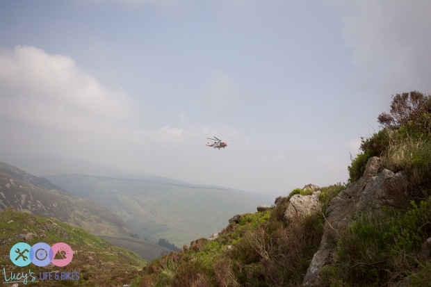 Coastguard at Cadair Idris