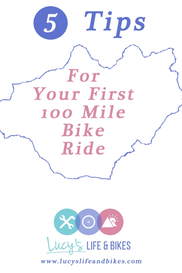5 Tips for Your First 100 Mile Bike Ride